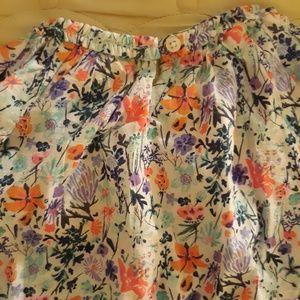 OshKosh B'gosh Shirts & Tops - Girls Oshkosh  Retro Flower Shirt